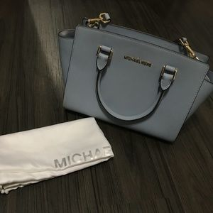 Michael Kors Pale Blue Selma